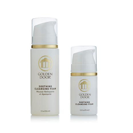 Golden Door Soothing Cleansing Foam Travel Kit