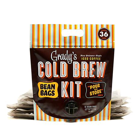 Grady's Cold Brew Coffee Pour and Store 36-Serving Pouch