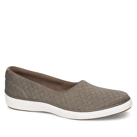 Grasshoppers by Keds Lacuna Quilted Fabric Slip-On Shoe