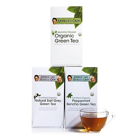 Green Tea Variety Kit - 30 + 30 + 30