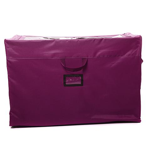 Hable Construction Clear Top Rolling Storage Bag