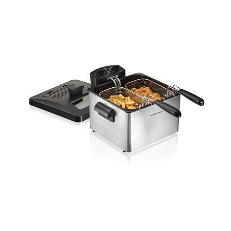 Hamilton Beach 19-Cup Professional-Style Deep Fryer