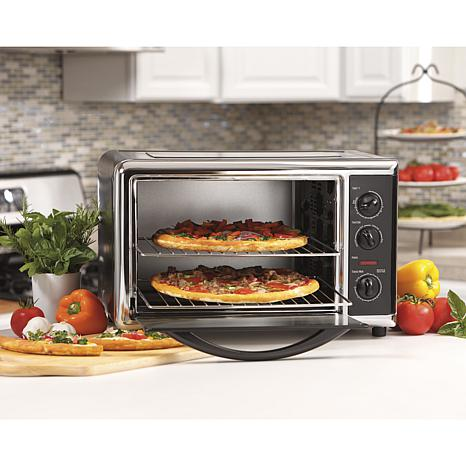 Hsn Countertop Oven : Hamilton Beach Countertop Oven with Convection and Rotisserie ...