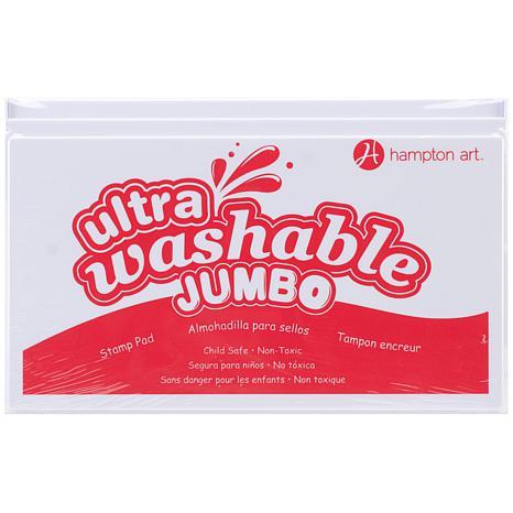Hampton Art Jumbo Washable Ink Pad - Red