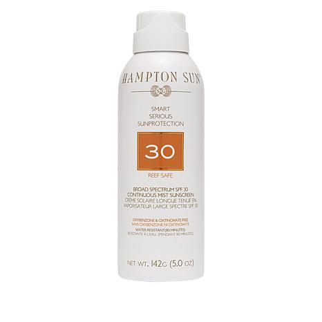 Hampton Sun Broad Spectrum SPF 30 Continuous Mist Sunscreen