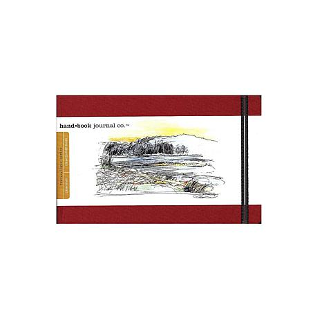 Hand Book Journal Co. Travelogue Drawing Journals - Landscape Red