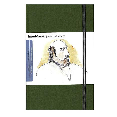 Hand Book Journal Co. Travelogue Drawing Journals - Portrait Green