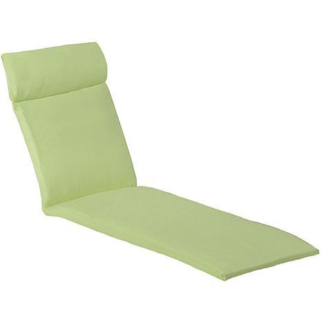 Hanover orleans chaise lounge cushion avocado green for Chaise cushion clearance