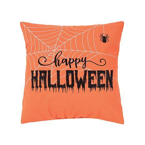 Happy Halloween Web Pillow