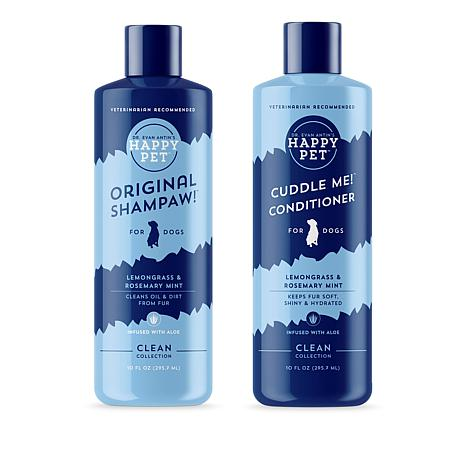 Happy Pet Clean Collection Dog Shampoo and Conditioner Duo