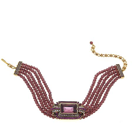 "Heidi Daus ""A Magnificent Cut"" 5-Strand Choker Necklace"