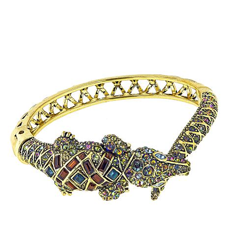 "Heidi Daus ""Ali-Gorgeous"" Crystal Bangle Bracelet"