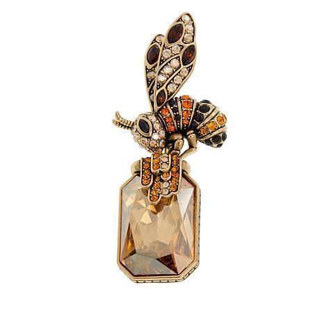 "Heidi Daus ""Bee-Utiful"" Crystal Pin"
