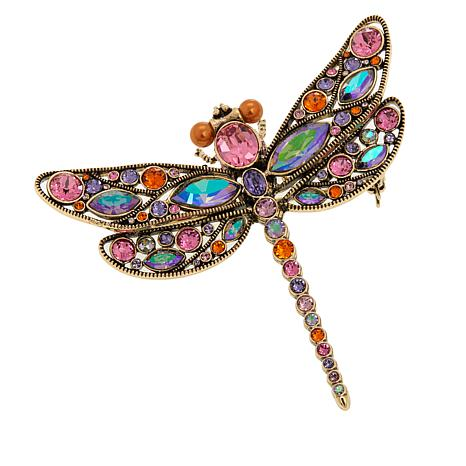 "Heidi Daus ""Darling Darning Needle"" Crystal Pin"