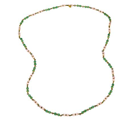 "Heidi Daus ""Delicate Touch"" 44"" Beaded Necklace"