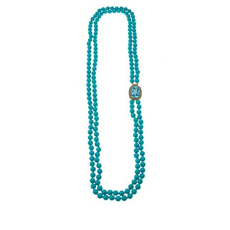 """Heidi Daus """"Exquisite Elegance"""" Beaded Crystal-Accented Necklace"""