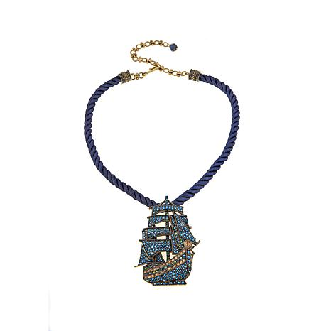 "Heidi Daus ""Gorgeous Galleon"" Crystal Drop Necklace"