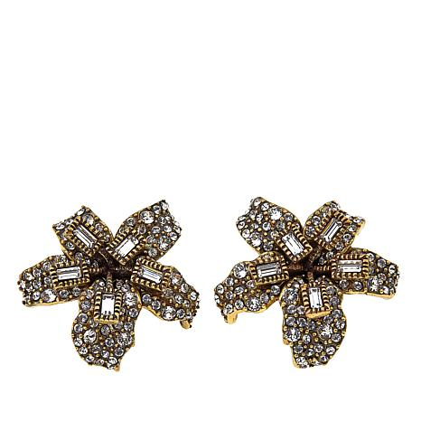 "Heidi Daus ""Star-Gazer"" Crystal Earrings"