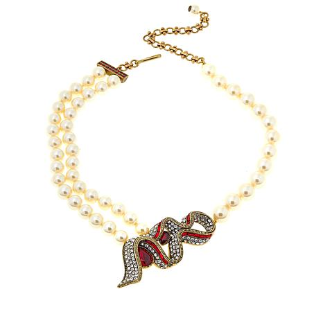 "Heidi Daus ""Sweeter Than Candy"" Beaded Drop Necklace"