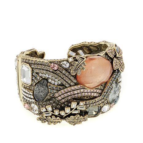 "Heidi Daus ""The River Runs Through It"" Cuff Bracelet"