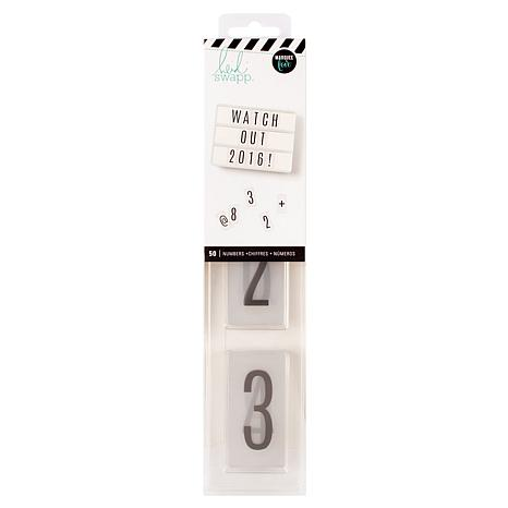 Heidi Swapp Light Box Alphas & Numbers Set