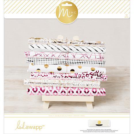 """Heidi Swapp Minc Paper Pad 12"""" x 12"""" - 5th Avenue"""