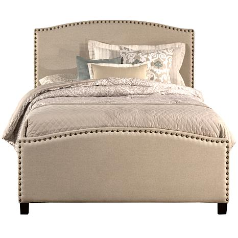 Hillsdale Furniture Kerstein Full Bed with Rails - Light Taupe