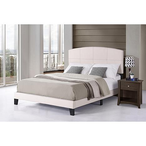 Hillsdale Furniture Southport Queen Bed-in-One - Ecru