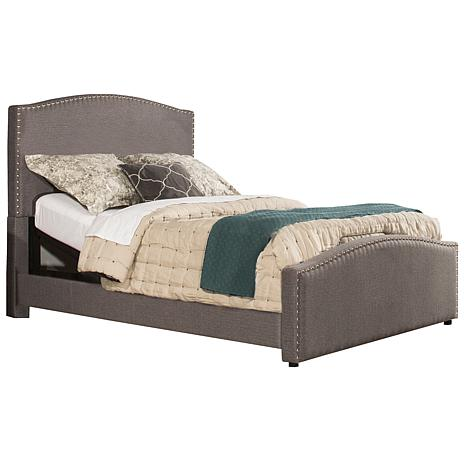 f644d88b6fdb Hillsdale Furniture Kerstein King Bed with Rails - Orly Gray - 8512491 | HSN