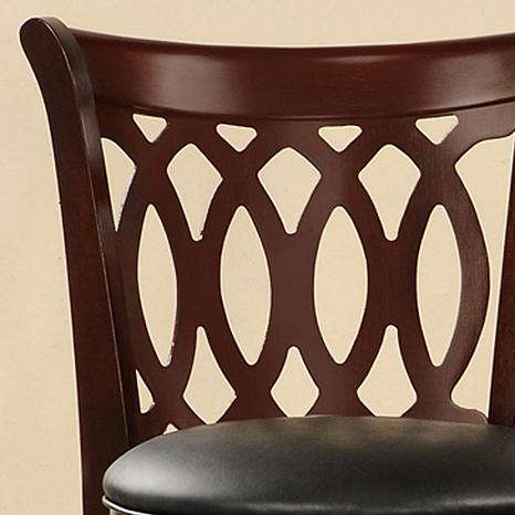 ... Home Origin Swivel and Scroll-Back Counter Height Chair ...  sc 1 st  HSN.com & 29