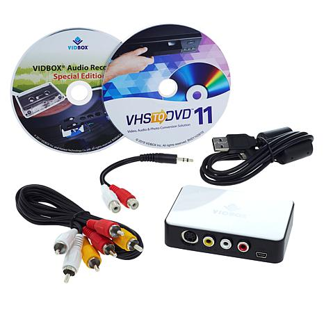 Honestech 11+ VHS-to-PC Digital Transfer with Audio Recorder & Voucher
