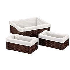 Household Essentials™ Paper Rope Utility Baskets