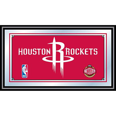 Houston Rockets NBA Framed Logo Mirror