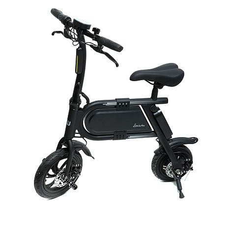 Hover-way Sprinter Folding Electric Bike w/Built-In Charger+Kickstand