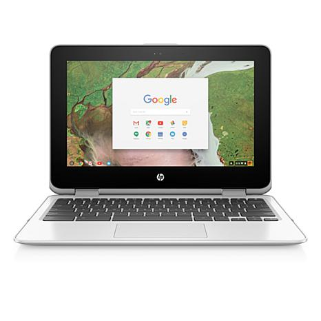 "HP 11.6"" Touch Convertible Chromebook Intel 4GB RAM 32GB eMMC Laptop"