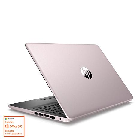 "HP 14"" 4GB RAM, 64GB HDD Laptop with Microsoft Office 365"
