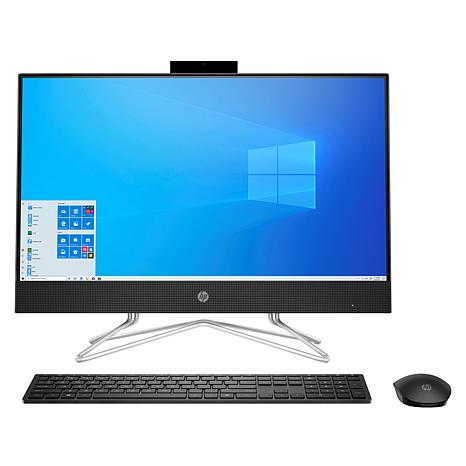 "HP 23.8"" Touch AMD Athlon Gold 8GB RAM 256GB SSD All-in-One Computer"
