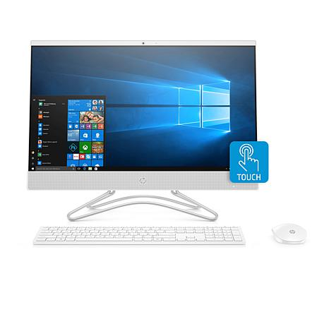 "HP 23.8"" Touch-Enabled AMD Dual-Core A9, 8GB RAM/1TB DVD All-in-One PC"