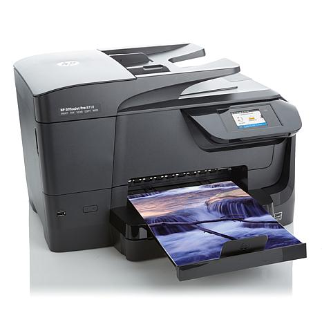 HP Officejet 8710 Photo Printer, Copier, Scanner & Fax