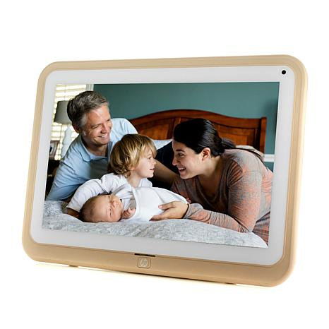 """HP Touchscreen 10"""" Wi-Fi Photo Frame with 8GB Internal Memory"""