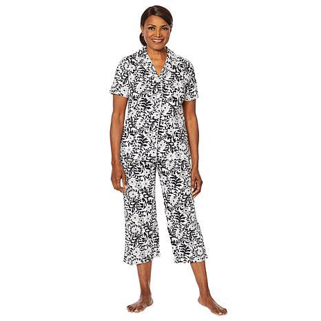 HUE 2-piece Capri Pant Sleepwear Set