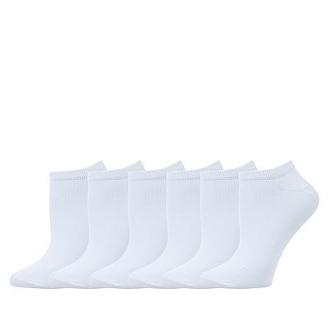 HUE 6-pack Super Soft Liner Socks