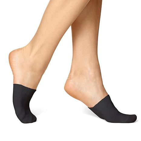 Hue Cotton Toe-Topper Socks 3-pack