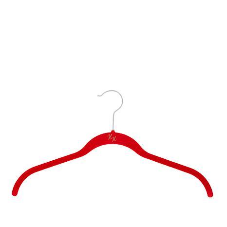 Huggable Hangers 20-pack of Shirt Hangers with Chrome Hooks