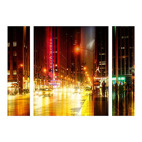 "Hugonnard ""Urban Stretch NYC IV"" Panel Art - 30"" x 41"""