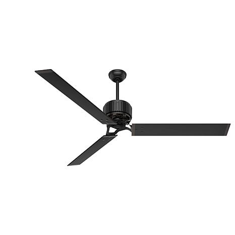 "Hunter 72"" HFC  Ceiling Fan with Wall Control - Matte Black"