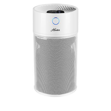 Hunter Tower Air Purifier with ViroSilver and True HEPA Filters