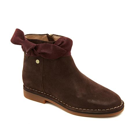 Ankle Bootie Catelyn Bow Puppies Hush Suede cl1KTJu3F