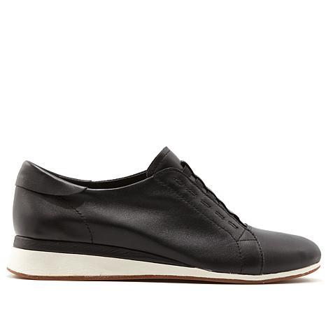 Hush Puppies Evaro Leather Slip-On Oxford