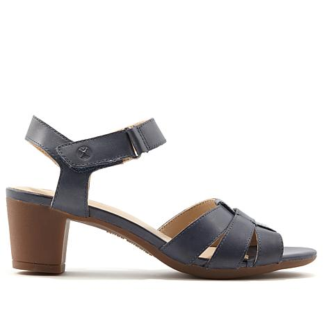 Hush Puppies Masseter Leather Quarter Strap Sandal